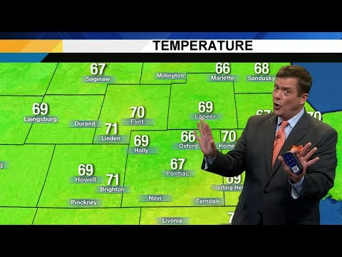 Metro Detroit weather brief, 8/23/2019, noon update