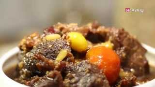My Little Kitchen - Caramel Galbijjim (Beef Short Ribs) 캐러멜 갈비찜