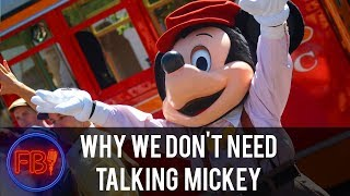 Is a talking Mickey Mouse meet and greet not as cool as it sounds? thumbnail