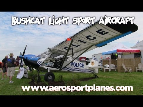 BushCat taildragger, BushCat Amphibian, BushCat Tri-gear from Skyreach Aviation.