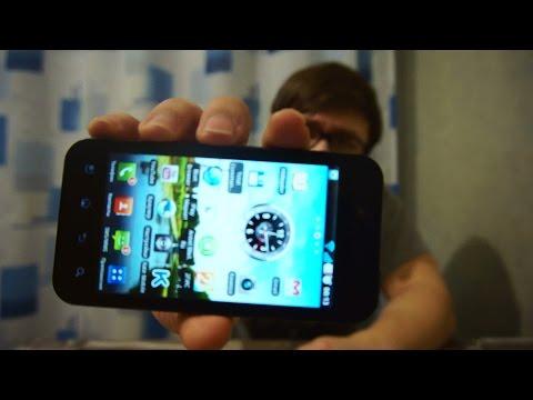 Обзор моего телефона (LG Optimus Black)