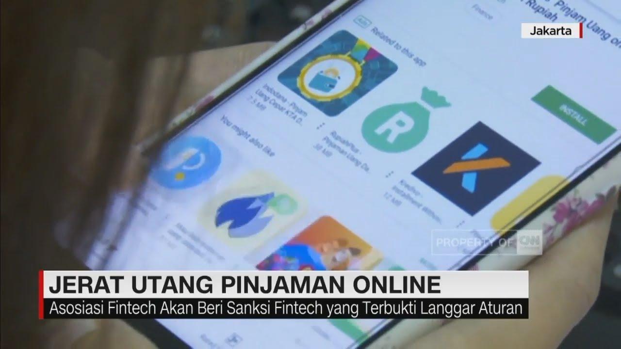 Jerat Utang Pinjaman Online Youtube
