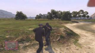 Grand Theft Auto 5 Online - Officer Speirs - Make It Rain Part #2