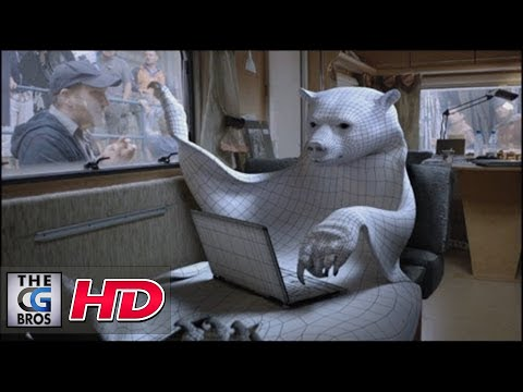 "CGI VFX Breakdowns HD: ""The Making of Canal + the Bear"" by Mikros Image"
