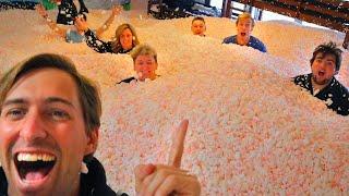 Hide N Seek In House Filled With Styrofoam Peanuts