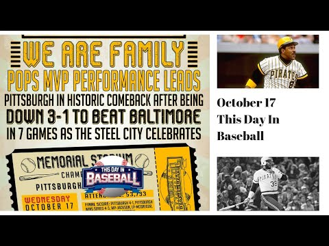 We are Family! The 1979 Pittsburgh Pirates Win The World Series