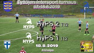 Tyttöjen Intersport-turnaus 2019 HyPS 2 T12 vs HyPS 1 T12