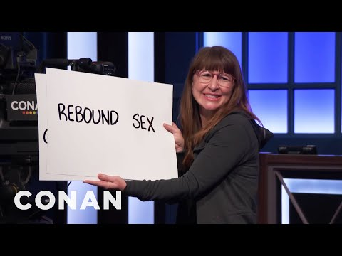 Dana In Cue Cards Has A Message For Channing Tatum   CONAN on TBS