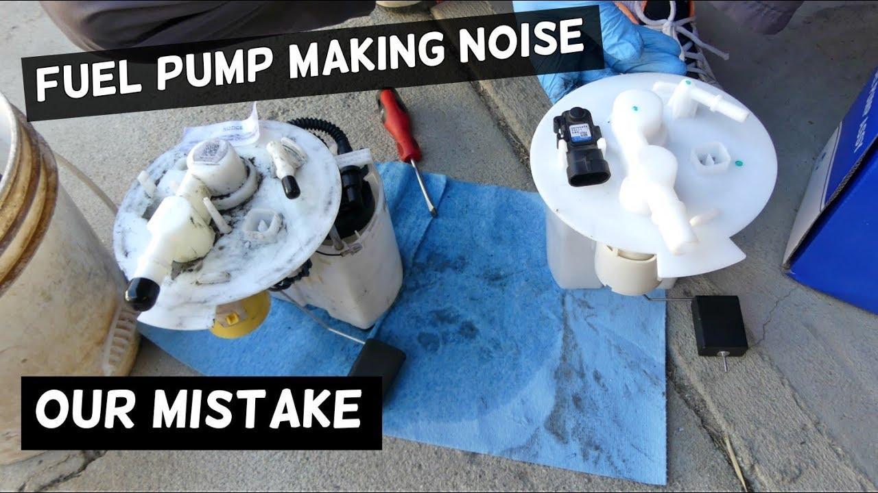 medium resolution of fuel pump noise