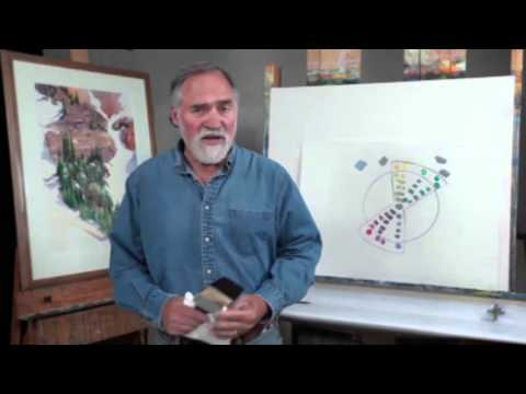 Preview | Color Foundation with Stephen Quiller: Structured Color Demonstration