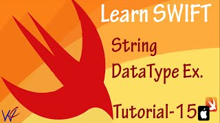 String datatype in Swift Programming - Tutorial 15
