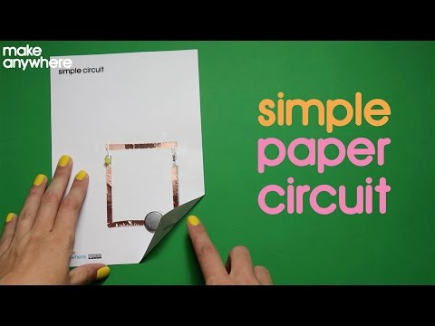 How To Make A Simple Paper Circuit