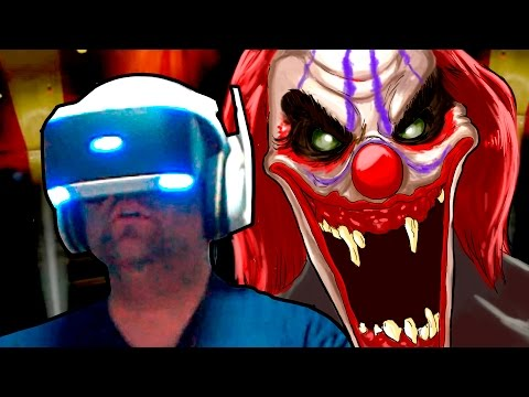 ENCONTREI OS PALHAÇOS ASSASSINOS E FUI ATACADO - Playstation VR Gameplay