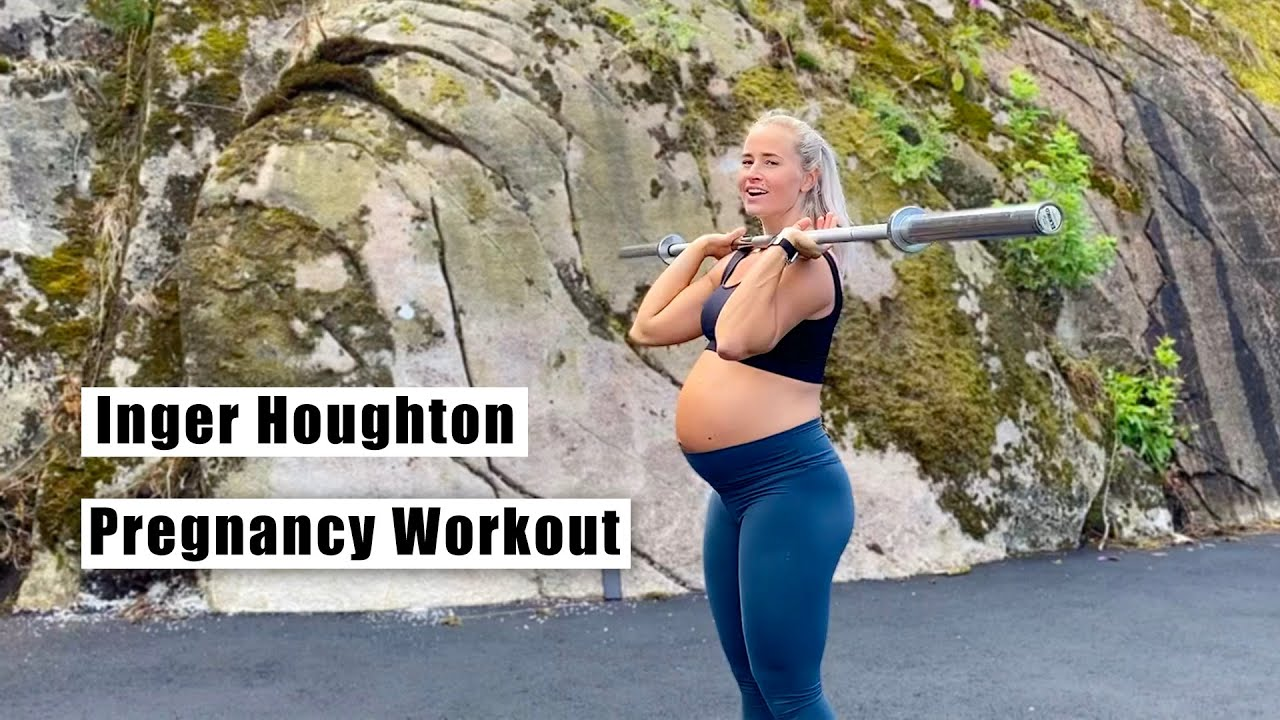 Inger Houghton | Pregnancy Workout w/ Empty Barbell