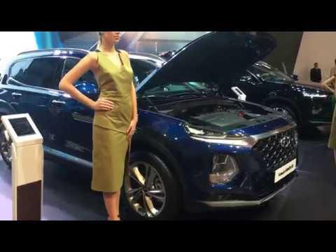 ММАС 2018 Стенд Hyundai Новый SANTA FE и обновленный TUCSON