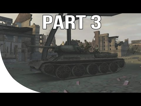 Call Of Duty Finest Hour Gameplay Walkthrough Part 3 - Eastern Front - TANKS!