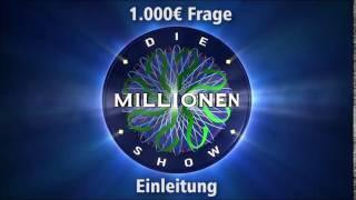 1.000€ Frage - Einleitung | Millionenshow Soundeffect