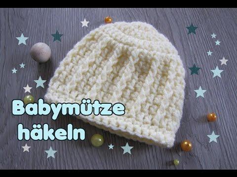 Baby Mütze Häkeln Beanie Für Neugeborene 0 3 Monate