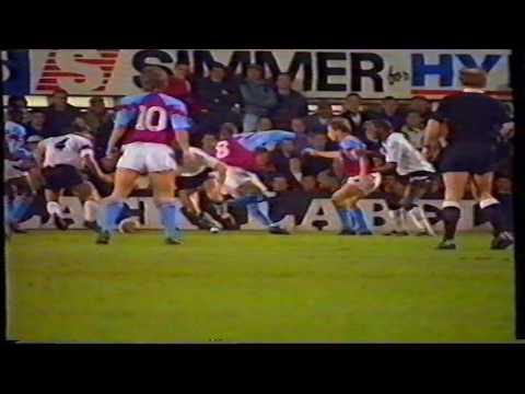 1991-92 Derby County 3 Aston Villa 4 - FA Cup 4th Round - 05/02/1992