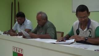 Valdir do Suburbão apresenta Arineudo Roberto como seu candidato a presidente da LDLN