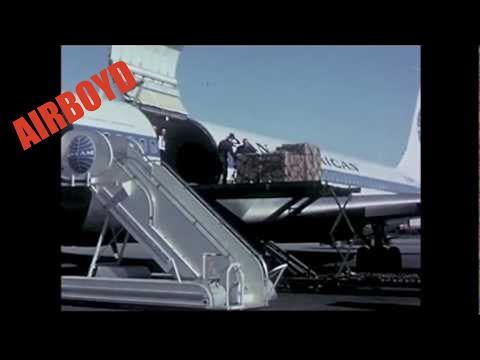 """Pan Am Boeing 707-320C """"Combi"""""""