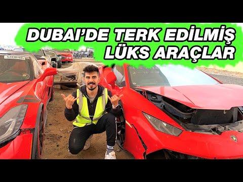 DUBAİ'DE TERKEDİLMİŞ LÜKS ARABALAR (Ferrari Lamborgihini)