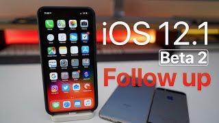 iOS 12.1 Beta 2 - Follow up