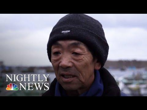 North Korean 'Ghost Ships' Wash Up On Japan's Coast   NBC Nightly News