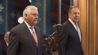 PTV news 13 Aprile 2017 - Incontro Russia - Usa: Mosca delusa la svolta di Trump non c'è