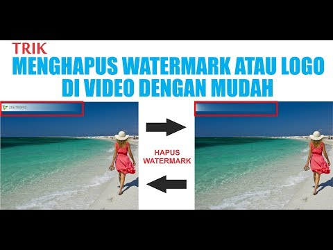 Cara menghapus watermark dan logo di video