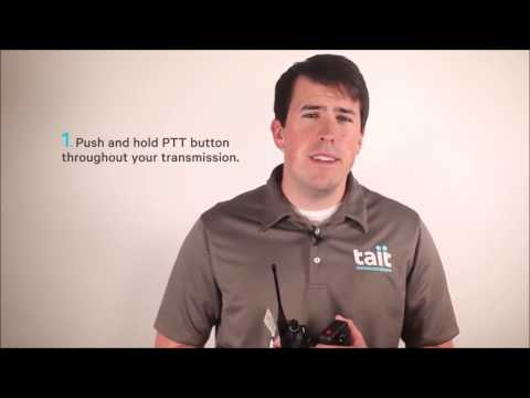 Training video on: How To talk on a Radio