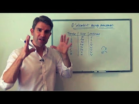 The D'Alembert Betting System - How to Use It