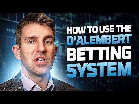The Dalembert Betting System