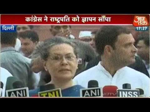 Sonia Gandhi Blames BJP For Growing Intolerance