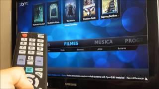 Raspberry Pi Funcionando com Filme em Full HD 1080p usando o OpenElec