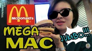 Cewek Ngabisin Mcdonald's MEGA MAC !!!  Happy 4000 SUBSCRIBERS!