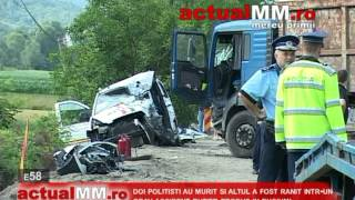 doi politisti au murit si altul a fost ranit intr un grav accident rutier