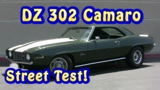 Camaro DZ 302(NRE Stealth 427CI) Street Test. 1969.   Nelson Racing Engines.  Chevelle,  Camaro