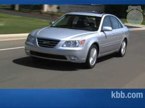 2008 Hyundai Sonata Review Kelley Blue Book Youtube