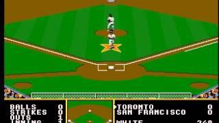Tony La Russa Baseball (Sega Megadrive)