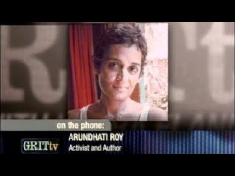 Arundhati Roy - GRITtv with Laura Flanders