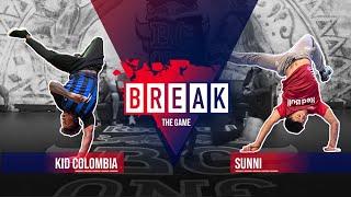B-Boy Kid Colombia vs. B-Boy Sunni | Break The Game 2020