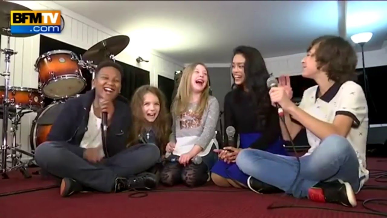 Top KIDS UNITED] PASSAGE BFMTV - YouTube CK14