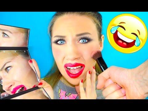 МОЙ ПАРЕНЬ ДЕЛАЕТ МНЕ МАКИЯЖ My Boyfriend Does My Makeup | Elli Di