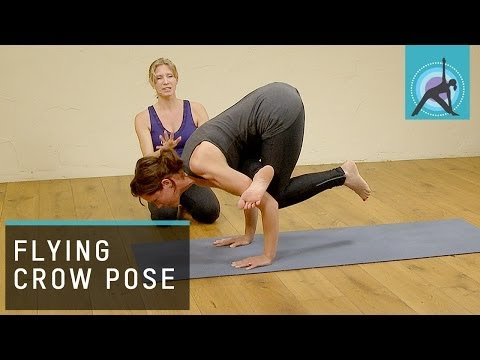 How to do Flying Crow Pose in Yoga