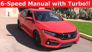2020 Honda Civic Si 6-Speed Manual Review