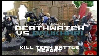 Kill Team Battle Report: Deathwatch vs Drukhari Campaign - Mission One