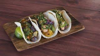 Roasted Cauliflower Tacos   Jen Phanomrat