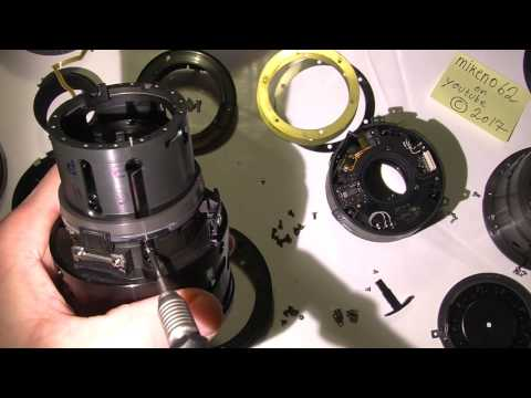 Assemble AF-s Nikkor 70-200mm 1:4G ED  PART 1