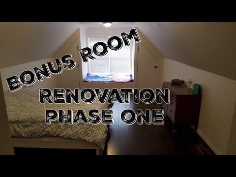 Bonus Room Renovation Tour - Phase One